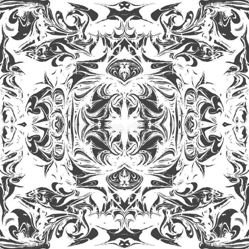 Предпосылка абстрактного ebru вектора мраморизуя бесплатная иллюстрация
