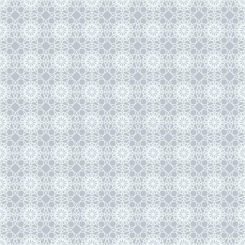 Предпосылка абстрактной винтажной светлой картины обоев безшовная также вектор иллюстрации притяжки corel иллюстрация вектора
