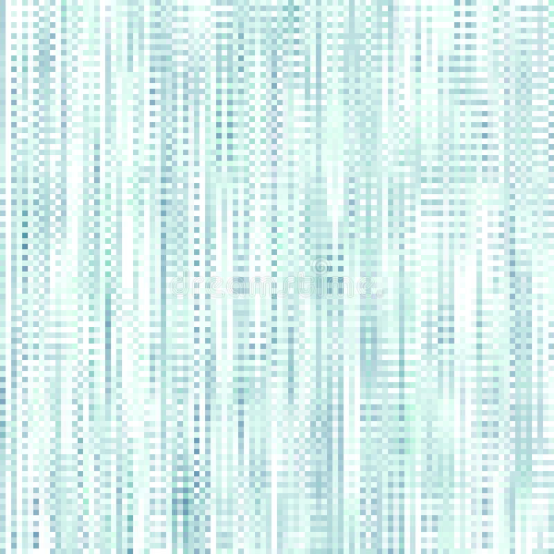 Предпосылка абстрактной мозаики голубая checkered иллюстрация вектора