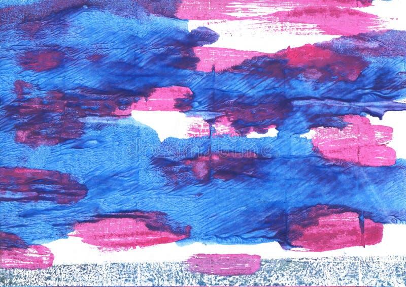 Предпосылка акварели голубики абстрактная бесплатная иллюстрация