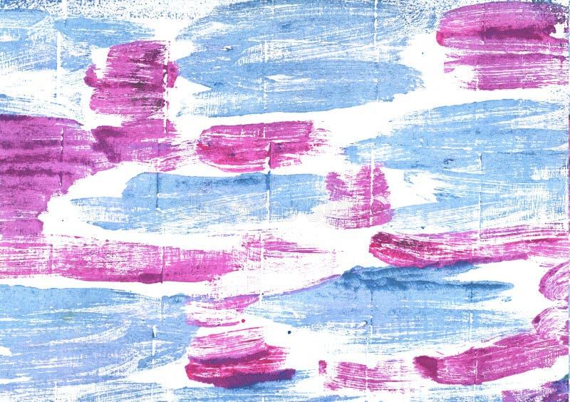 Предпосылка акварели голубых глазов младенца абстрактная стоковая фотография rf