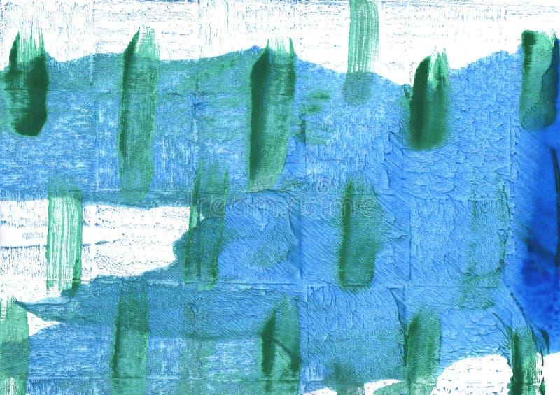Предпосылка акварели голубых джинсов абстрактная бесплатная иллюстрация