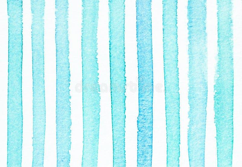 Предпосылка акварели покрашенная рукой striped, бесплатная иллюстрация
