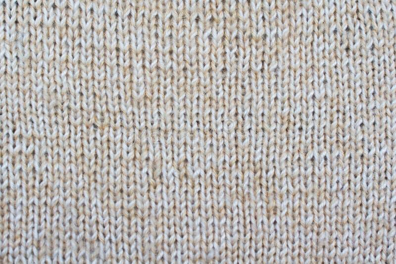 Предпосылка бежевых текстурированных draperies связанная картина стоковые изображения