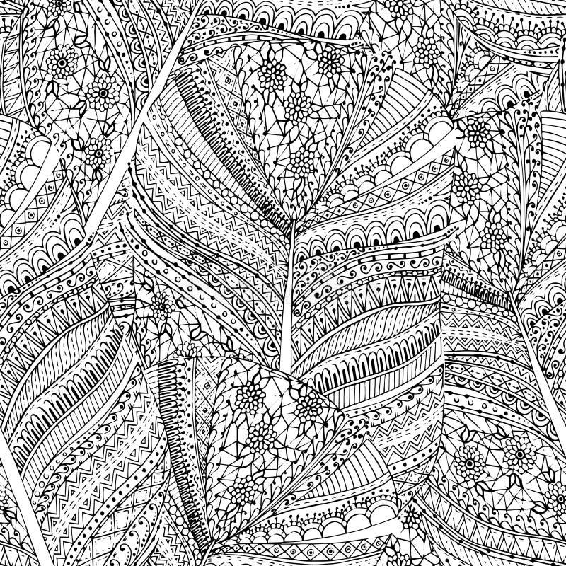 Предпосылка безшовного цветка ретро в векторе бесплатная иллюстрация