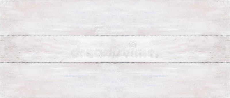 Предпосылка 3 белая деревянных доск стоковое изображение
