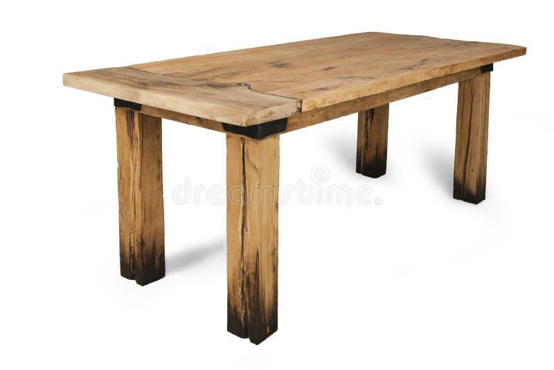 Предпосылка белизны деревянного стола стоковые изображения