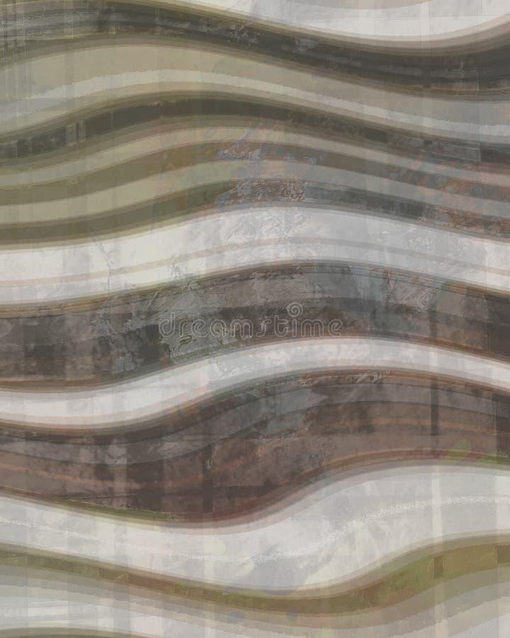 Предпосылка Брайна и сливк Curvy стоковые изображения rf