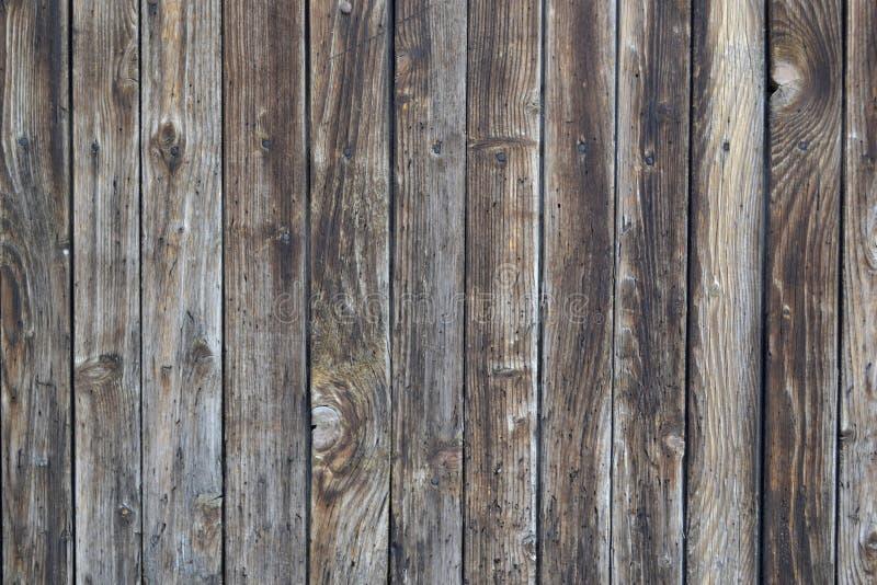 Предпосылка Брайна старая деревянная текстурированная стоковые фотографии rf