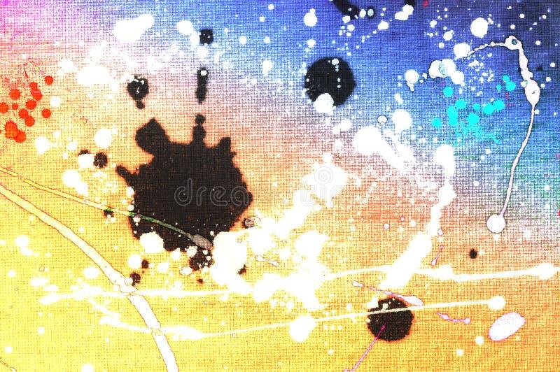Предпосылка брызнутая Grunge красочная деревянная вектор изображения иллюстрации элемента конструкции бесплатная иллюстрация