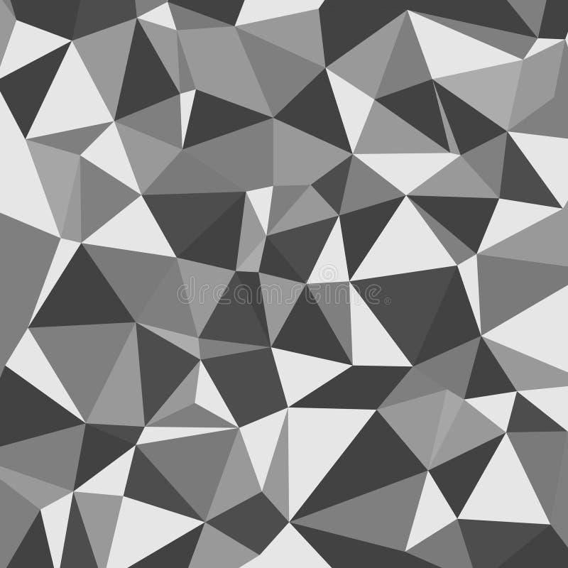 Предпосылка вектора абстрактная полигональная иллюстрация штока