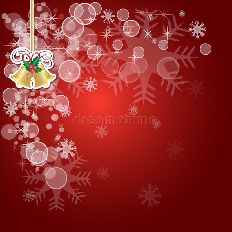 Download Предпосылка вектора абстрактного рождества красная Иллюстрация вектора - иллюстрации насчитывающей украшение, темно: 81812179