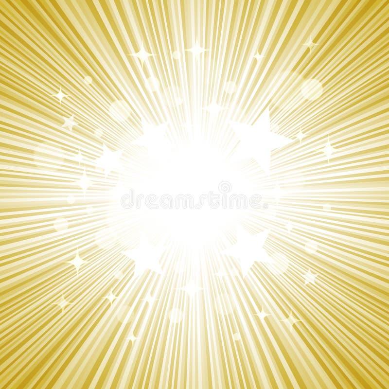 Предпосылка вектора звезды иллюстрация штока