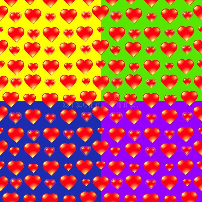 Предпосылка вектора сердца бесплатная иллюстрация