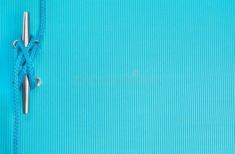 Предпосылка веревочки морская стоковое изображение