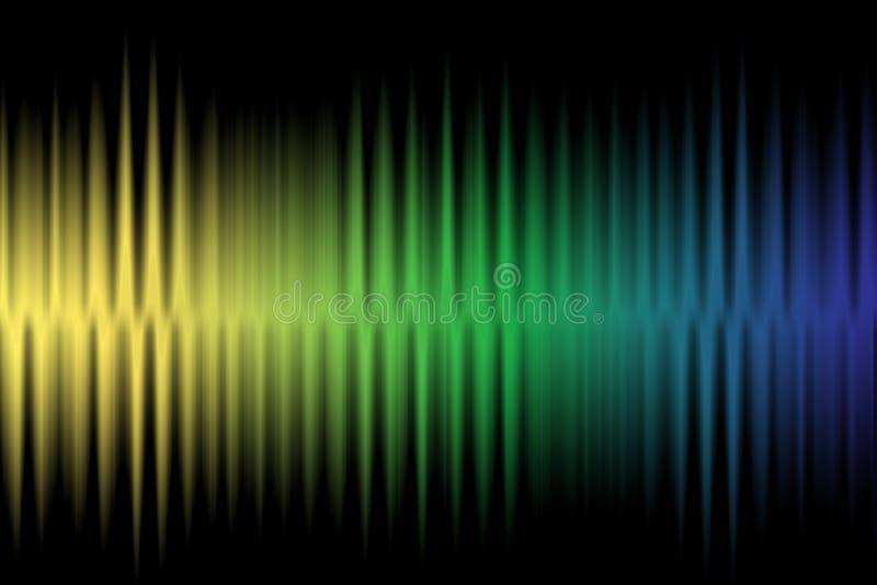 Предпосылка волны красочная стоковые изображения rf