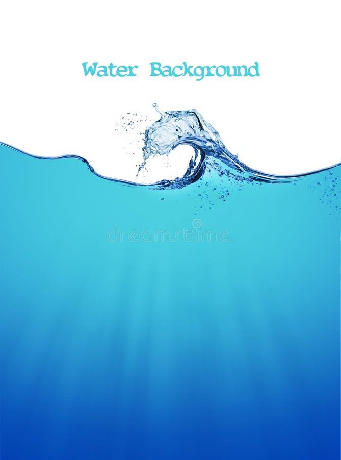 Предпосылка воды стоковая фотография
