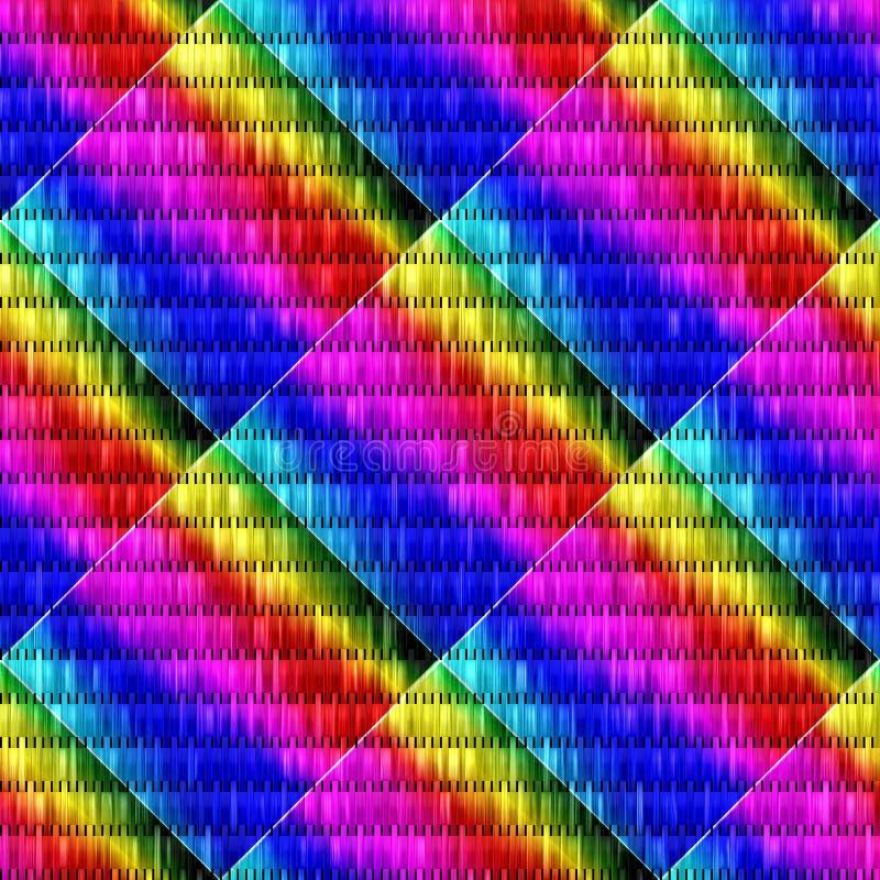 Предпосылка в вариантах другого цвета иллюстрация вектора