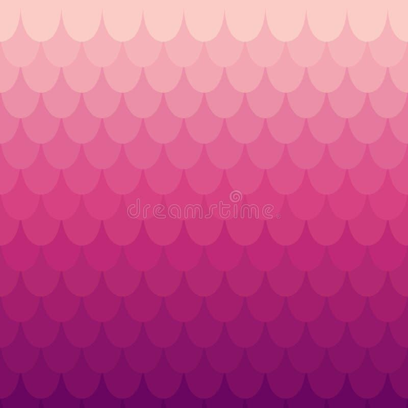 Предпосылка в стиле squama или плитки иллюстрация вектора