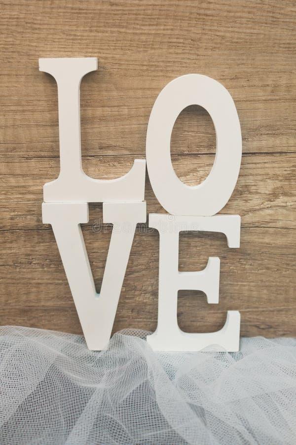 Предпосылка влюбленности деревянная стоковая фотография rf