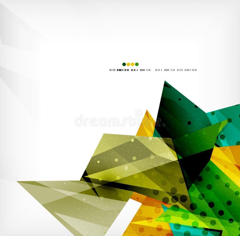 Предпосылка геометрического конспекта формы футуристическая бесплатная иллюстрация