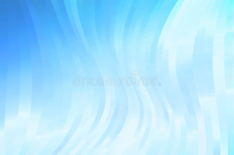 Предпосылка голубых нашивок стоковые изображения rf