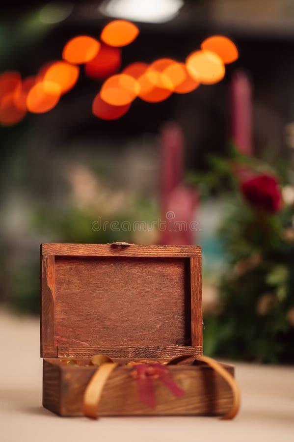 Предпосылка декоративного ларца мерцающая стоковые фото