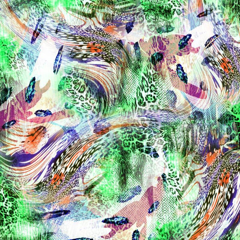 Предпосылка леопарда иллюстрация штока