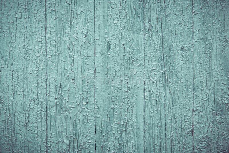Предпосылка деревенской старой деревянной доски затрапезная зеленая стоковое фото rf