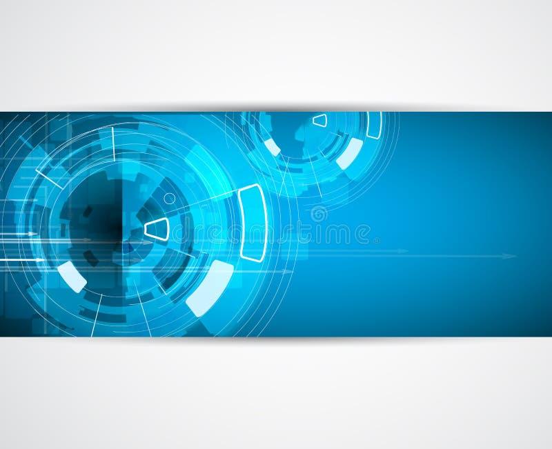 Предпосылка дела концепции новой технологии компьютера безграничности бесплатная иллюстрация