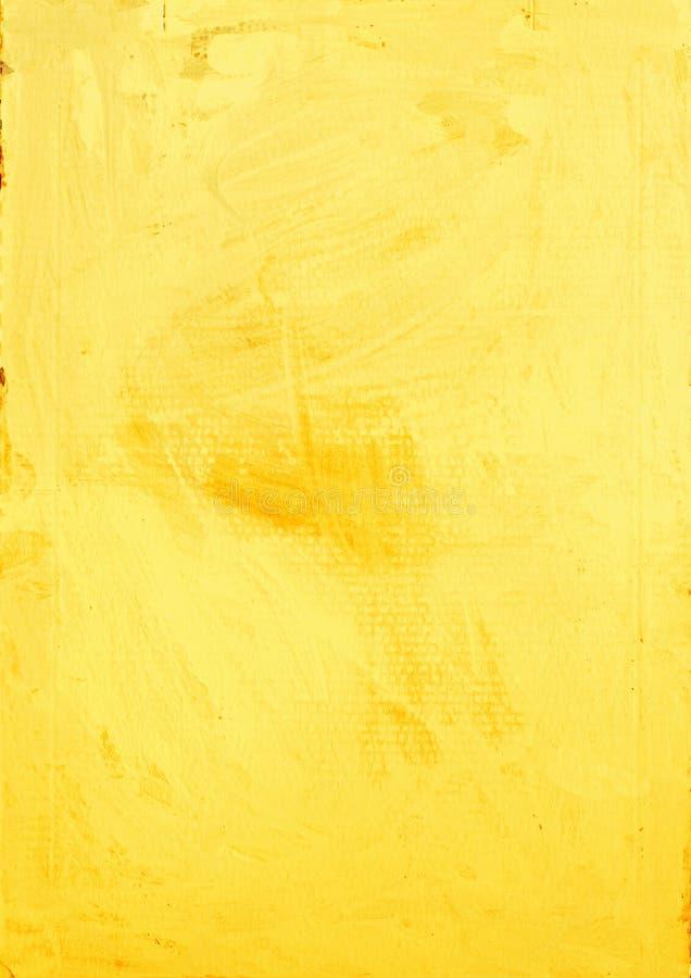 Предпосылка желтого цвета grunge искусства абстрактная иллюстрация штока