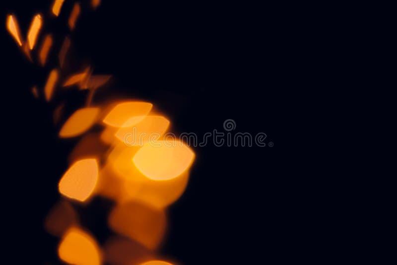 Предпосылка запачканная конспектом оранжевая на хеллоуин стоковые изображения