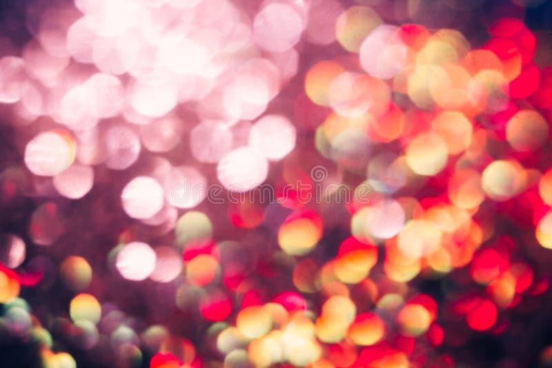 Предпосылка запачканная конспектом светлая, яркий венчик стоковое фото