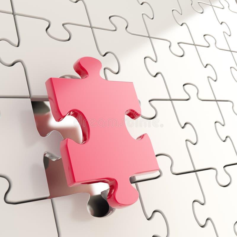 Предпосылка зигзага головоломки с цельным стоит вне бесплатная иллюстрация