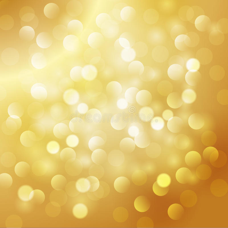 Предпосылка золота рождества абстрактная иллюстрация вектора