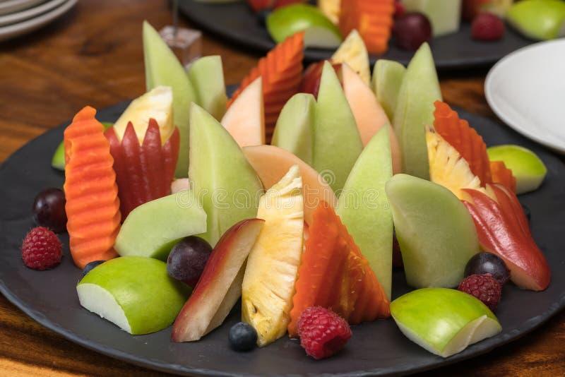 Предпосылка здоровых свежих фруктов стоковые фотографии rf