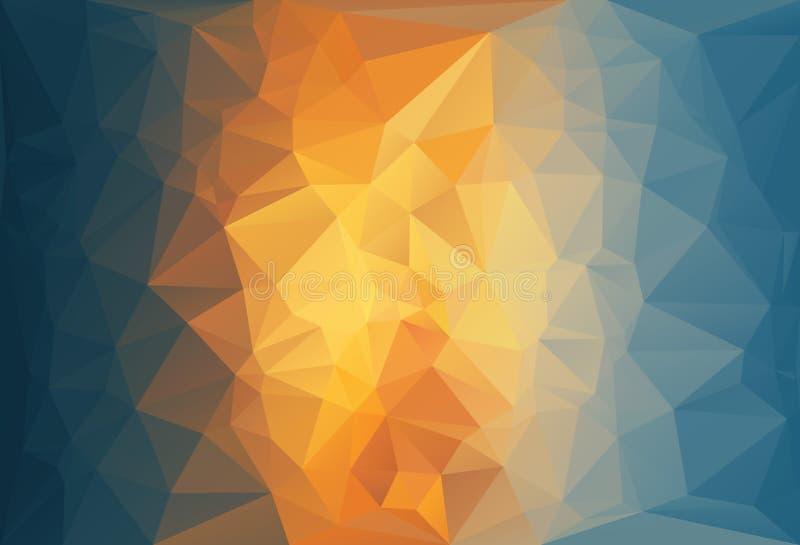 Предпосылка искусства абстрактная для дизайна иллюстрация штока
