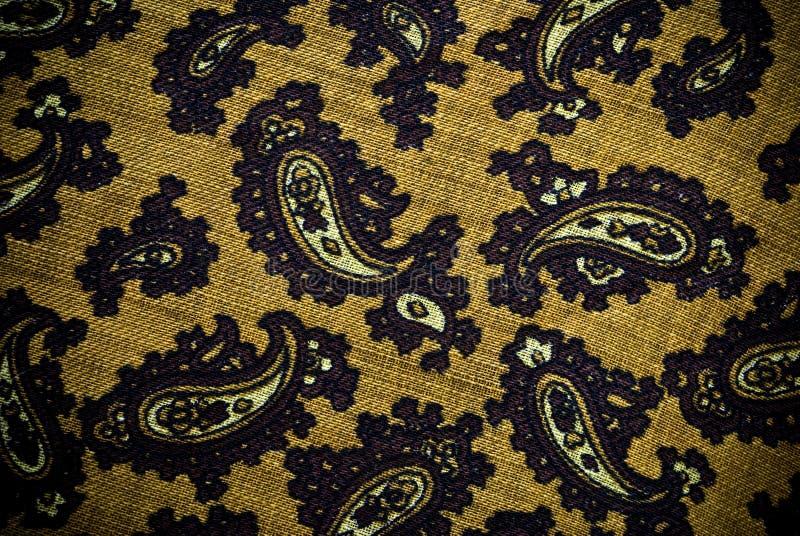 Предпосылка или текстура турецких или индейца Пейсли материальные стоковое изображение