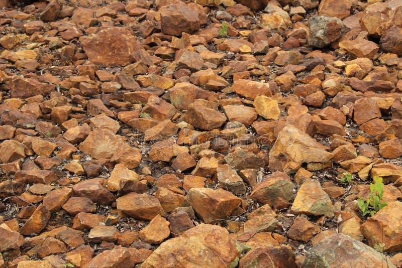 Предпосылка камней медной руды стоковое фото