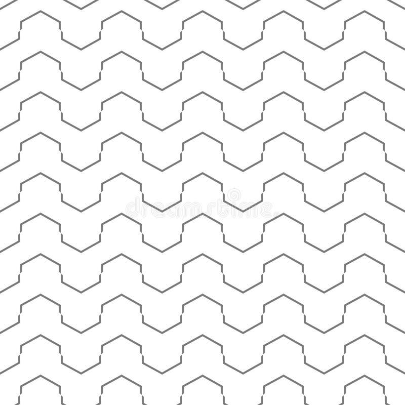 Предпосылка картины серой плитки безшовная иллюстрация штока