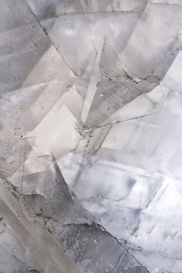 Предпосылка кальцита кристаллическая каменная стоковая фотография