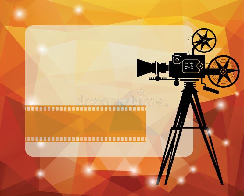 Предпосылка кино бесплатная иллюстрация