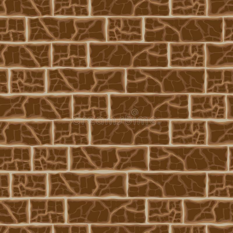 Download Предпосылка кирпичной стены, иллюстрация вектора Иллюстрация вектора - иллюстрации насчитывающей closeup, цемент: 33731751