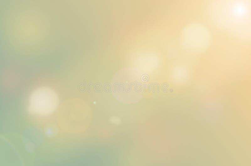 Предпосылка конспекта солнечного света Bokeh стоковые изображения