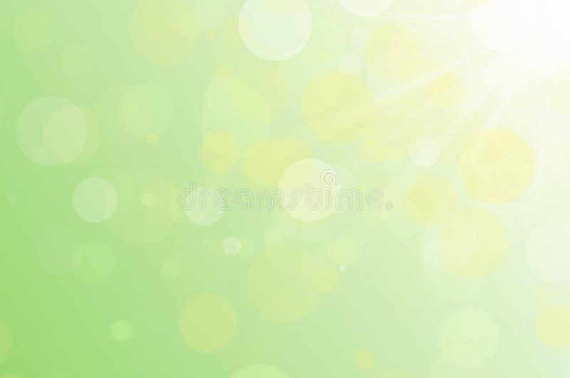 Предпосылка конспекта солнечного света Bokeh стоковое фото