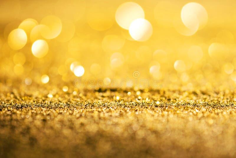 Предпосылка конспекта яркого блеска золота роскошная стоковая фотография rf