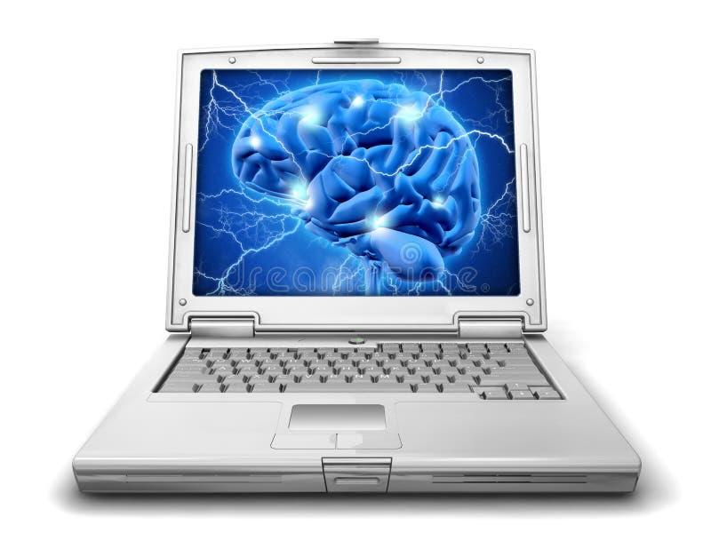 Предпосылка концепции исследования Alzheimers иллюстрация вектора