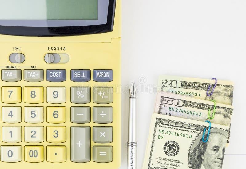 Предпосылка концепции личных финансов стоковое изображение