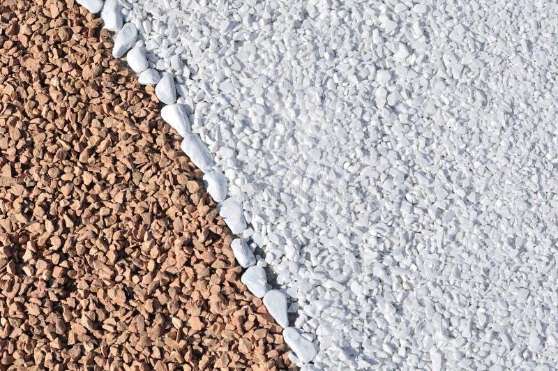 Предпосылка коричневых и белых утесов стоковое изображение rf