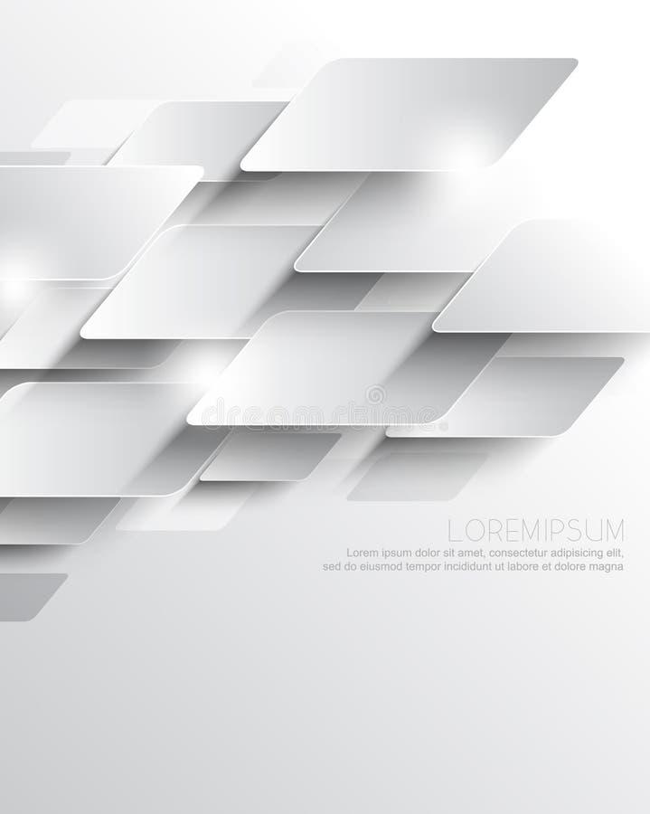 Предпосылка корпоративного бизнеса геометрических элементов вектора элегантная металлическая перекрывая иллюстрация штока